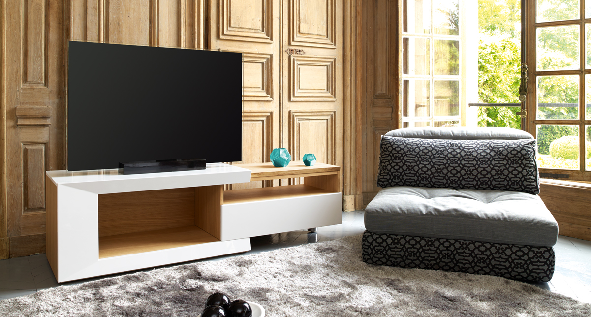meuble tv extensible marseille la valentine 13011 mobilier de france marseille. Black Bedroom Furniture Sets. Home Design Ideas