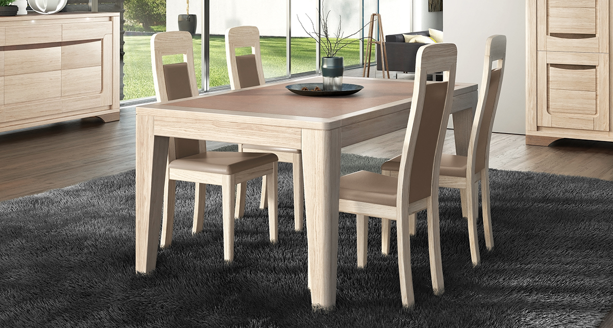 Table ovale extensible RIVA